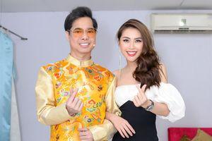 Ngọc Sơn tuyên bố nhận Hoa hậu Tường Linh là con gái