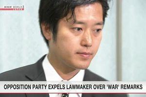 Đảng Cách tân Nhật Bản khai trừ 1 đảng viên vì phát ngôn lỡ lời