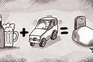 Khi những bánh xe được điều khiển bằng cồn