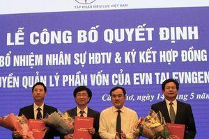 Tập đoàn Điện lực Việt Nam công bố các quyết định nhân sự tại EVNGENCO 2