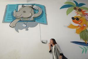 Ngắm loạt tranh tường kêu gọi bảo vệ động vật hoang dã khắp VN