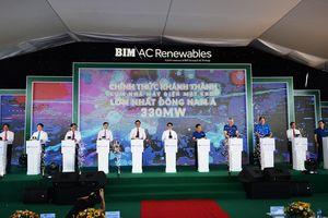 Khánh thành nhà máy điện mặt trời BIM