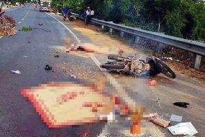 Hai người tử vong sau va chạm với ô-tô tải