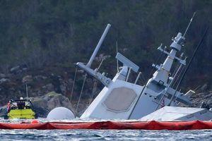 Chết ngất với số tiền Na Uy định bỏ ra sửa tàu KNM Helge Ingstad
