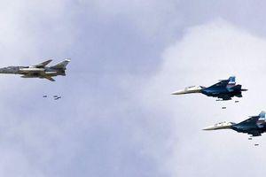 Sau điện đàm của TT Putin, Không lực Nga dội hỏa lực vào tây bắc Syria