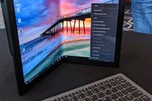Lenovo gây bất ngờ với laptop màn hình gập ThinkPad X1