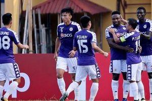 AFC Cup 2019 : Hà Nội FC tự quyết tấm vé vào vòng loại trực tiếp
