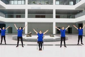 Bộ Y tế hướng dẫn bài tập thể dục giữa giờ để rèn luyện sức khỏe