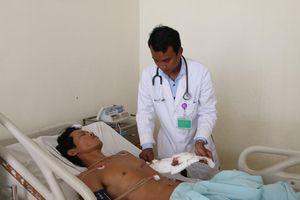 Cứu sống kịp thời bệnh nhân bị đâm thủng tim
