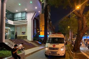 Nam tài xế tử vong trong tòa nhà cao tầng ở đường Đồng Khởi
