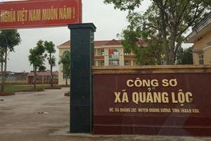 Bí thư, Chủ tịch UBND xã Quảng Lộc bị đề nghị cách hết chức vụ trong Đảng