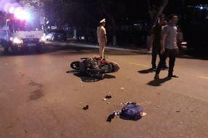 Ô tô tông 2 mẹ con đi xe máy ở Quảng Trị, bé trai chết thương tâm