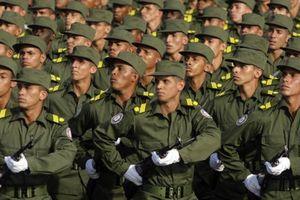 Đại sứ Cuba: Không có binh sĩ Cuba ở Venezuela