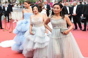 Vắng Phạm Băng Băng, mỹ nhân vô danh 'thừa thắng xông lên' thảm đỏ Cannes