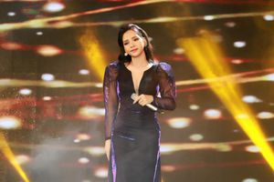 'Mỹ nhân Bolero' Tô Ngọc Hà gợi cảm trên sân khấu