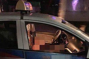 Người đàn ông đâm gục nữ tài xế taxi rồi tự tử