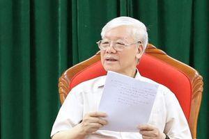 Tổng Bí thư, Chủ tịch nước Nguyễn Phú Trọng nêu thông điệp 'chống tham nhũng phải làm mạnh hơn nữa'