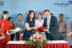 VietinBank Tràng An hợp tác với Bệnh viện Ung Bướu Hà Nội