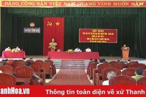 Đại biểu HĐND tỉnh tiếp xúc cử tri 17 xã phía Bắc của huyện Tĩnh Gia