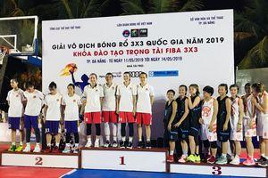Quảng Ninh giành HCĐ Giải vô địch bóng rổ 3x3 quốc gia