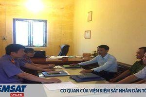 Kiểm sát trực tiếp thi hành án hình sự tại UBND xã Cẩm Hưng, huyện Cẩm Giàng, tỉnh Hải Dương