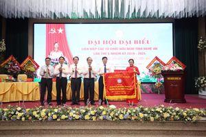 Phó Bí thư Tỉnh ủy Nghệ An Nguyễn Văn Thông tái đắc cử Chủ tịch Liên hiệp tỉnh khóa V