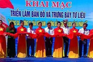 Triển lãm 'Hoàng Sa, Trường Sa của Việt Nam' tại vùng biên giới Quảng Nam