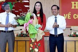 Chuẩn y bà Bùi Thị Quỳnh Vân là Phó Bí thư Tỉnh ủy Quảng Ngãi