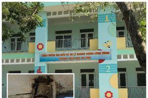 Nghịch lý ở đảo Lý Sơn: Trường cấp 3 chờ sập, trường mầm non xây xong lại 'đắp chiếu'