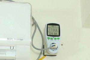Mức tiêu thụ điện thực tế của điều hòa là bao nhiêu?