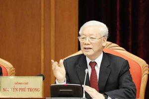 Tổng Bí thư, Chủ tịch nước chủ trì Hội nghị Trung ương 10