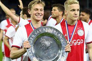 Ajax lên ngôi vô địch Hà Lan, chuẩn bị bán sạch đội hình toàn sao