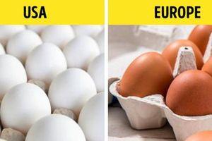 Kinh ngạc sự khác biệt của 10 thực phẩm ở Mỹ với các nước trên thế giới