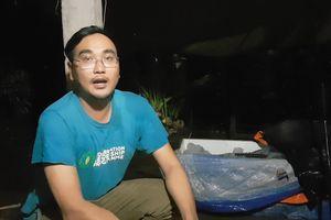 Cá lạ trên sông Cổ Chiên là cá nược tưởng đã tuyệt chủng ở Việt Nam