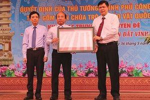 Vĩnh Phúc: Tháp gốm men chùa Trò được công nhận là bảo vật quốc gia