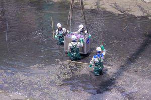 Hà Nội bắt đầu làm sạch sông Tô Lịch bằng 'bảo bối' của Nhật