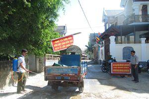 Huyện Quỳnh Lưu công bố dịch tả lợn Châu Phi trở lại