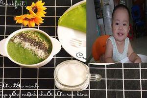 Học mẹ 9x gửi tình yêu vào những món phụ thơm ngon cho con mỗi ngày, bé vô cùng thích thú