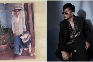 Hồ Quang Hiếu đăng ảnh ngày bé với phong cách 'nhìn phát biết dân chơi ngay'