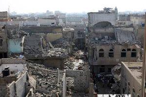 Liên minh do Saudi Arabia dẫn dầu không kích thủ đô của Yemen