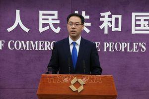 Trung Quốc phản đối các lệnh trừng phạt đơn phương của Mỹ