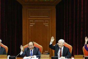 Chùm ảnh: Khai mạc Hội nghị lần thứ mười Ban Chấp hành Trung ương Đảng Cộng sản Việt Nam khóa XII