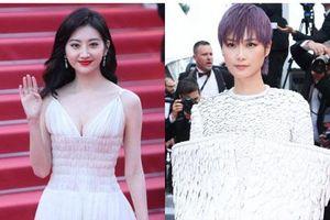 'Đệ nhất mỹ nữ Bắc Kinh' Cảnh Điềm bị chê quê mùa dù khoe ngực, Lý Vũ Xuân phá cách lại gây ấn tượng mạnh tại Cannes 2019