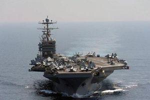 Uy lực nhóm tàu sân bay Mỹ triển khai rầm rộ đối phó Iran