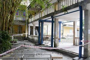 Ngôi trường hơn 40 năm ở Hà Nội xuống cấp nghiêm trọng