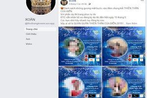 Thanh Hóa: Cuộc thi Thiên thần của biển 2019 chưa có sự đồng ý cấp phép của cơ quan chức năng