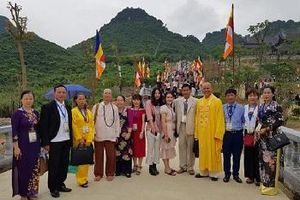 Liên Chi hội Di sản Văn hóa Việt Nam - Hội Chân Tâm tham dự Đại lễ VESAK 2019