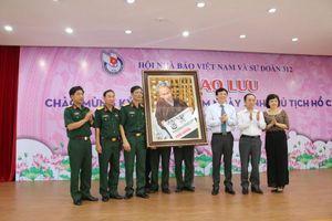 Thắm tình gắn bó giữa Sư Đoàn 312 và Hội Nhà báo Việt Nam