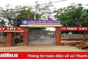 Trường Tiểu học Đồng Lương (Lang Chánh): 4 học sinh bị thương đã đến trường