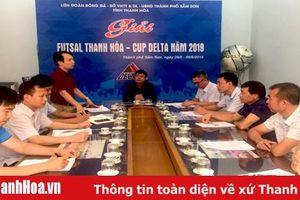 Giải bóng đá futsal tỉnh Thanh Hóa – Cúp Delta 2019 sẽ khai mạc vào ngày 29-5 tại TP Sầm Sơn
